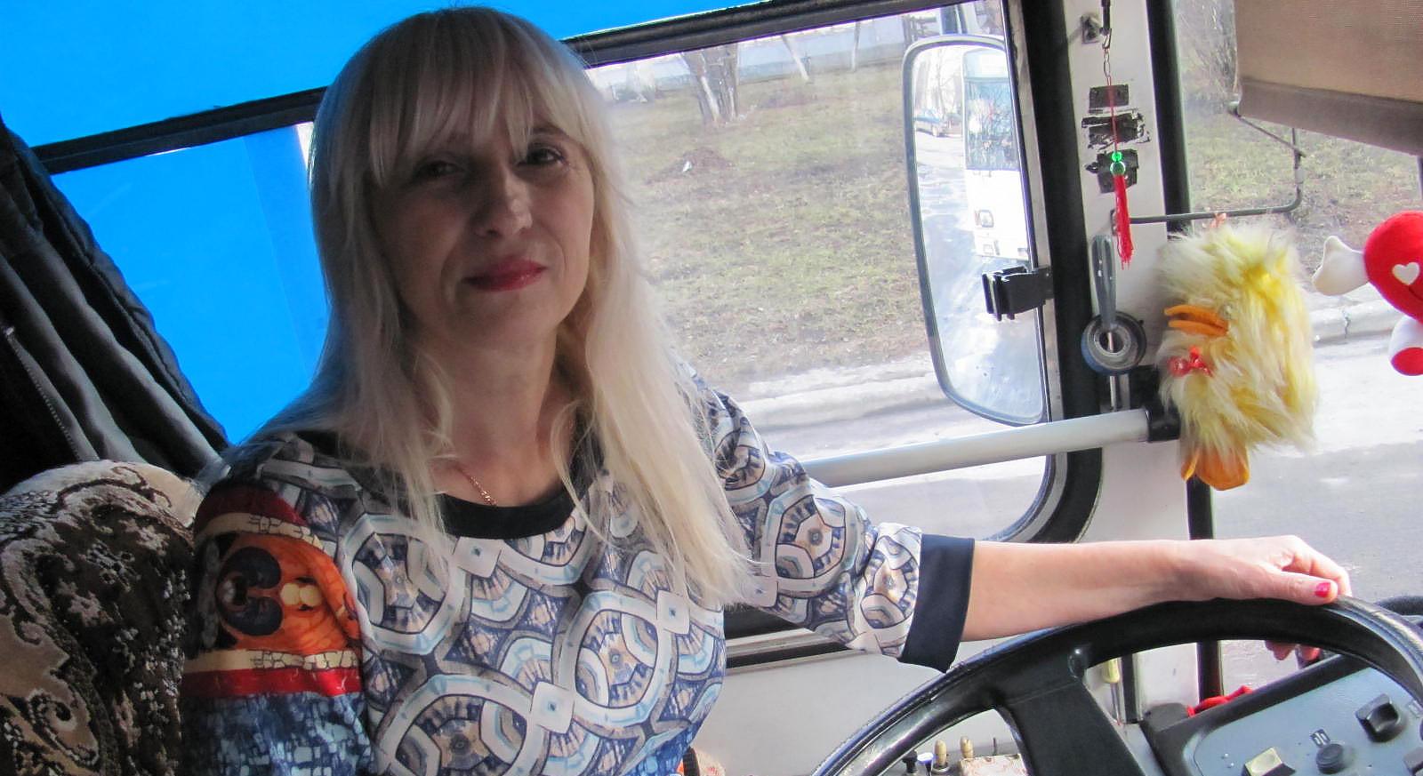 35 років за кермом тролейбуса!