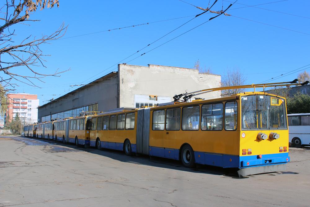 У 2016 році Тернопіль планує придбати 10 тролейбусів