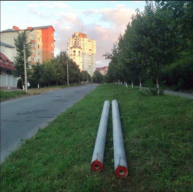 З понеділка розпочинається будівництво нової тролейбусної лінії на Лучаківського
