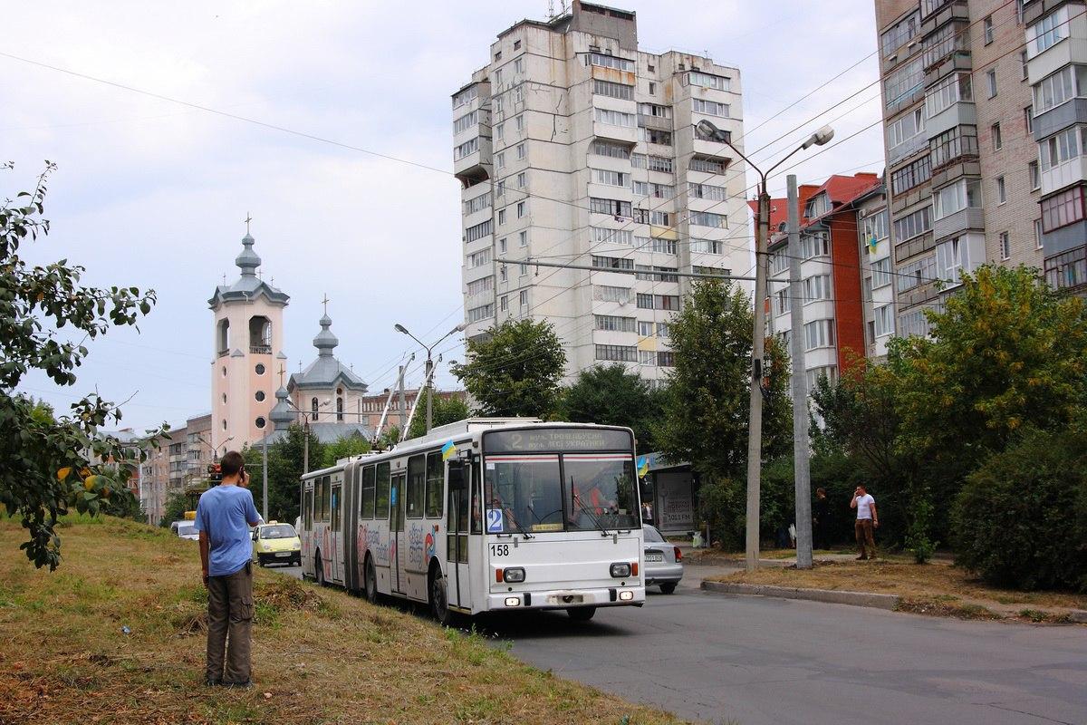 Провели випробування нової лінії на вул. Лучаківського