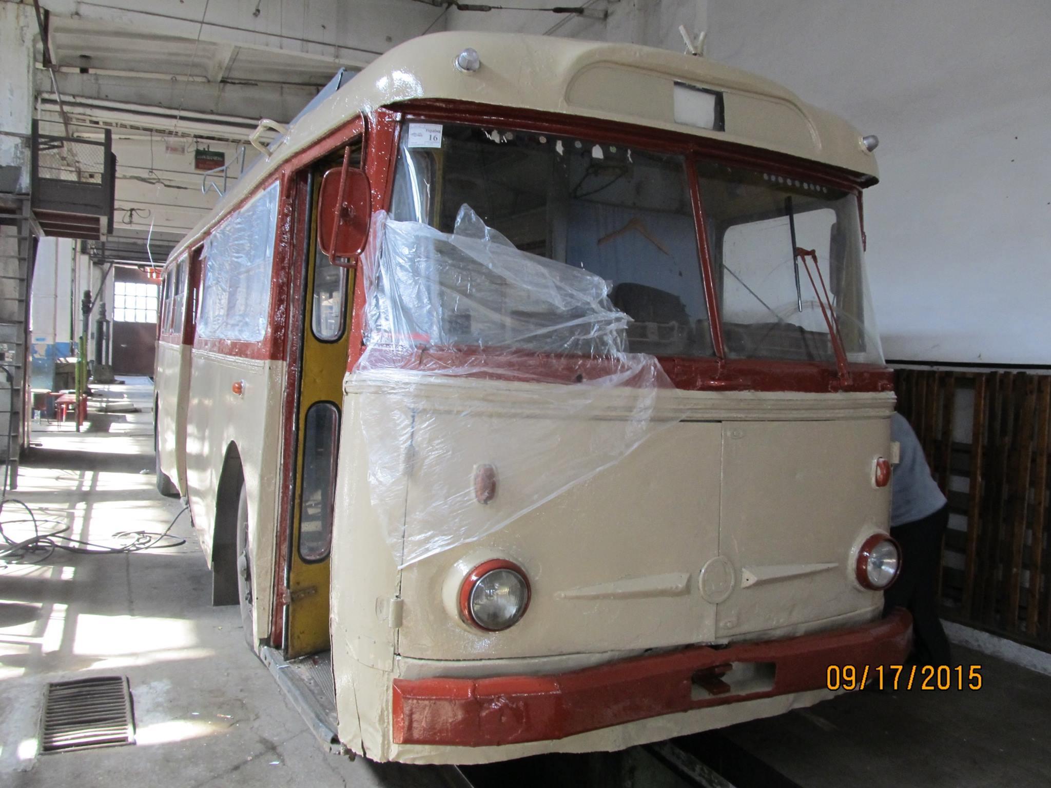 Вулицями Тернополя пустять ретро-тролейбус 1982 року