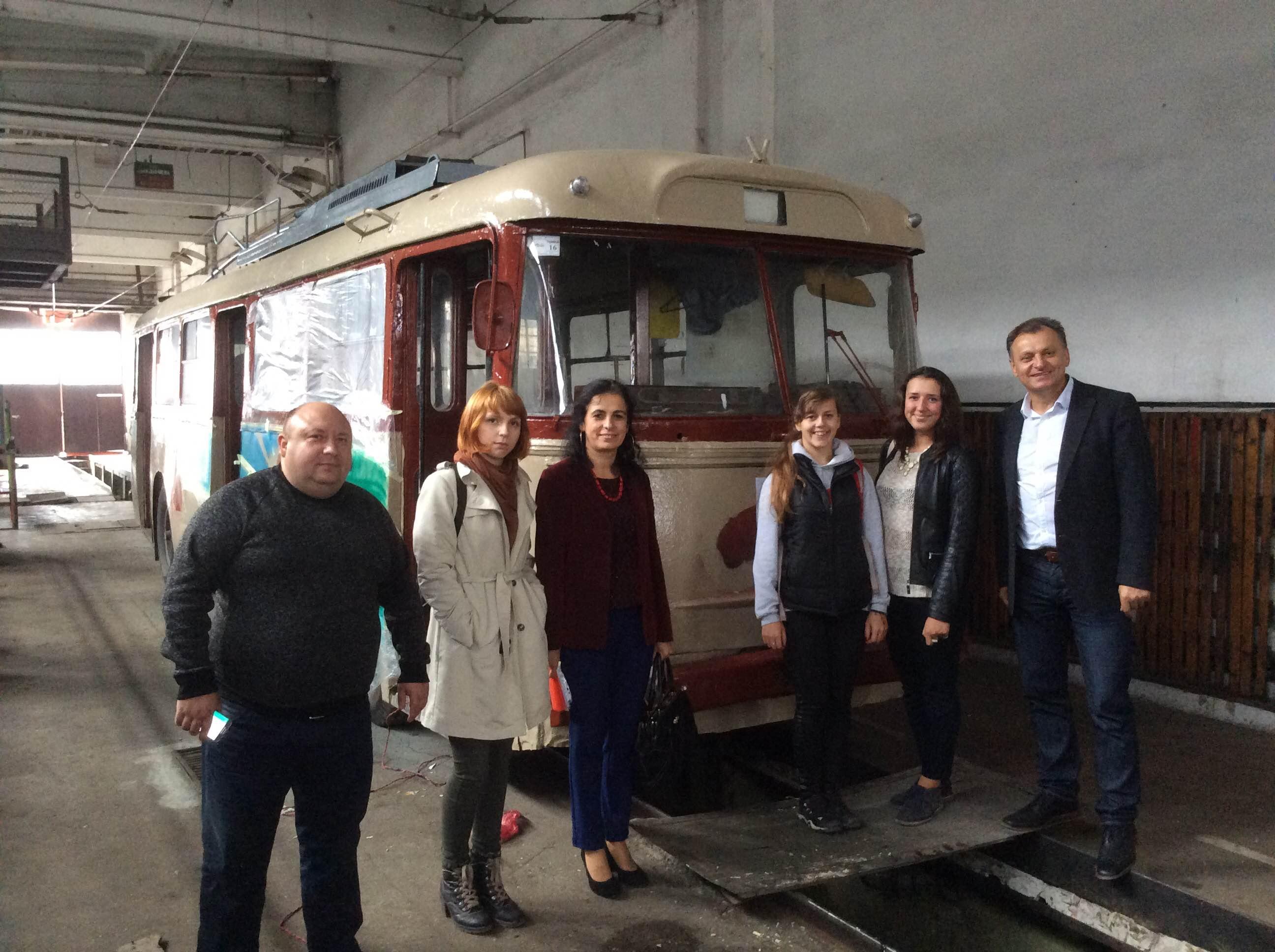 Організатори фестивалю ретро-машин «Золота підкова» презентуватимуть місту ретро-тролейбус