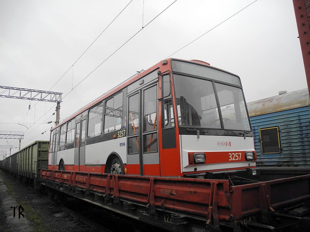 До Тернополя привезли чергового тролейбуса (фото)