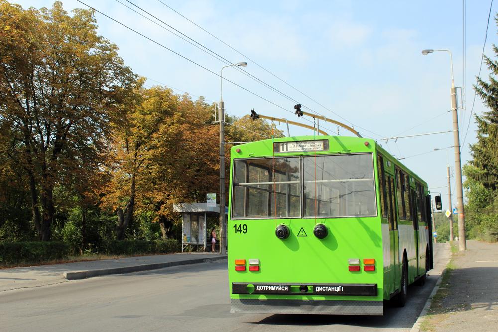 У Тернополі відкрили нову тролейбусну лінію вулицями Лучаківського – Будного – Тролейбусна