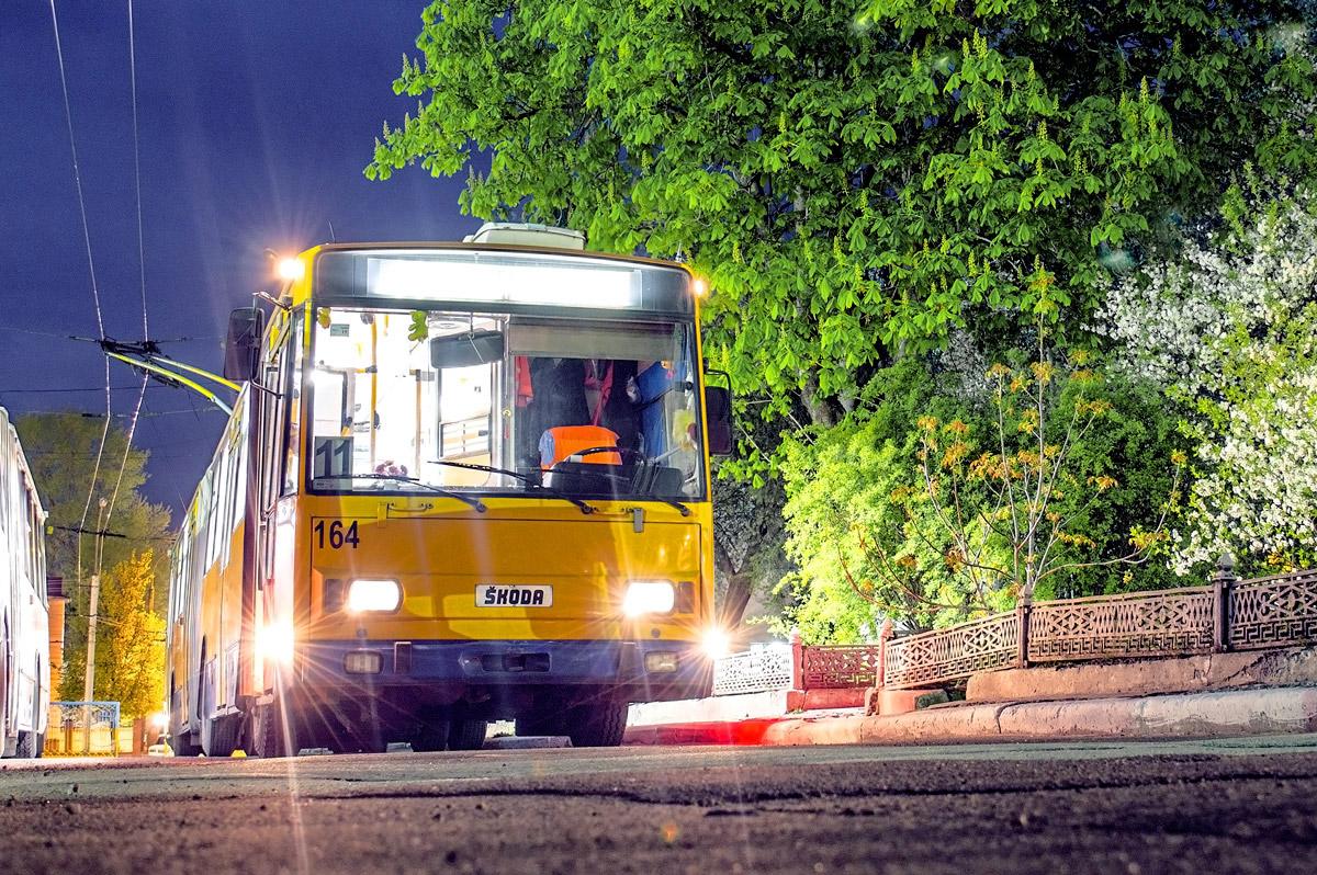 Розклад руху нічних тролейбусів №5 та №11