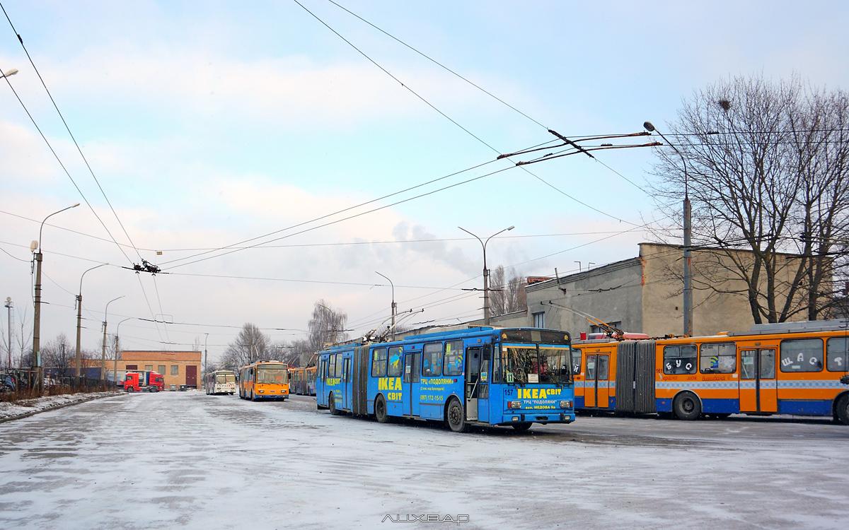 З 16 по 18 листопада тернополяни можуть їздити в тролейбусах безкоштовно