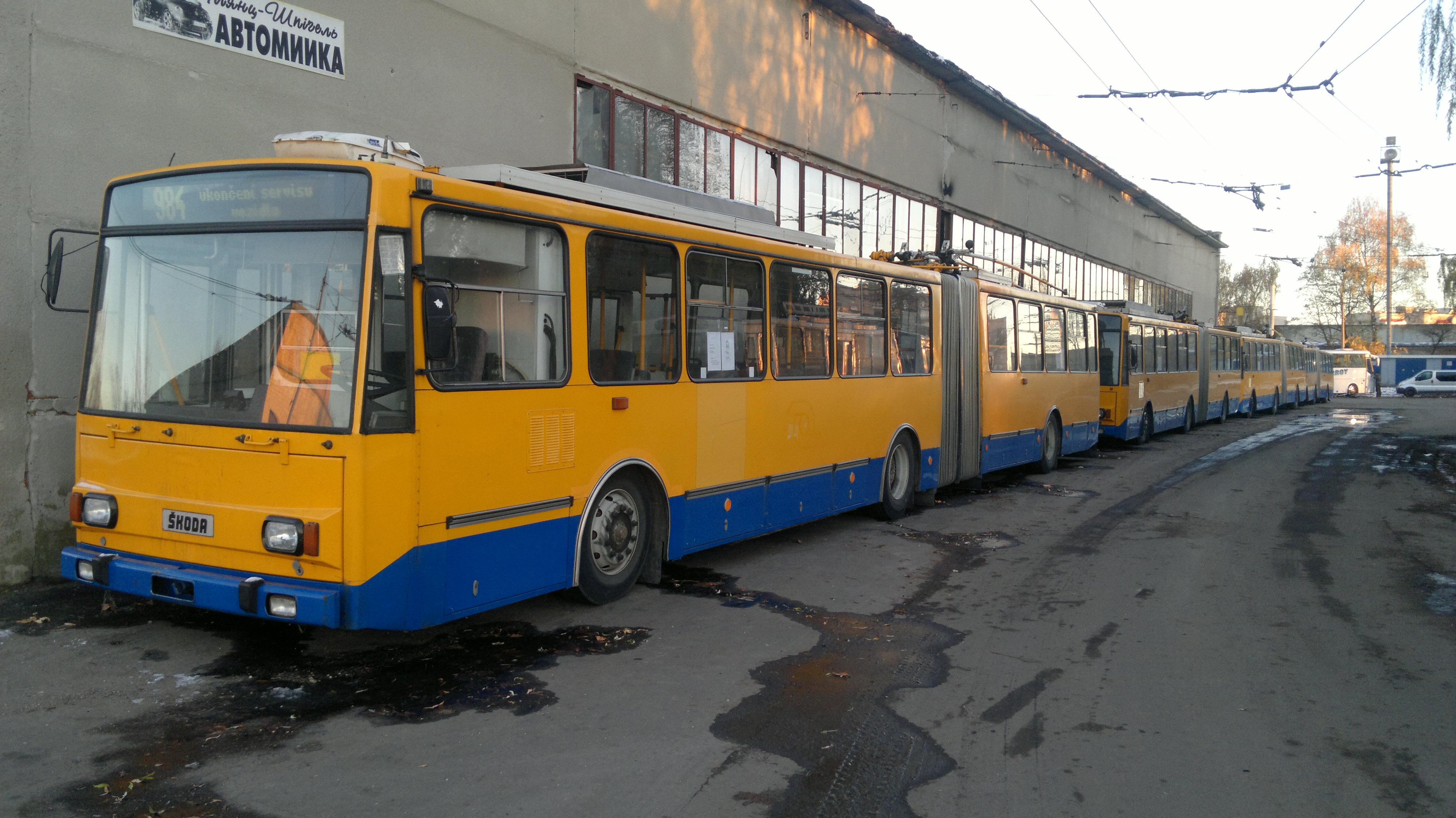 10 «гармошок» придбають цього року тернопільські тролейбусники