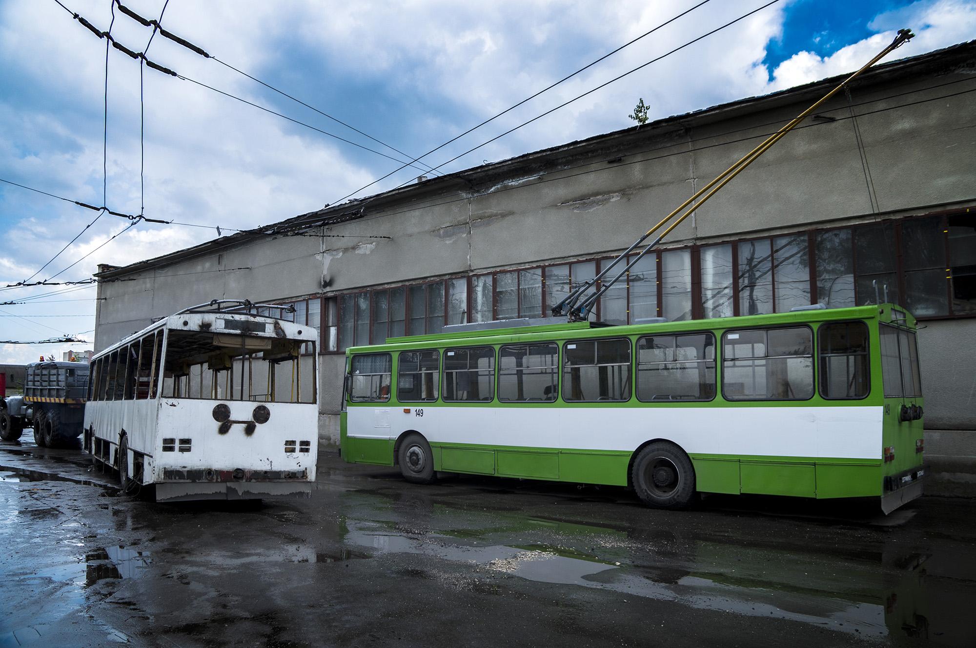Ще один старий тролейбус отримає нове життя