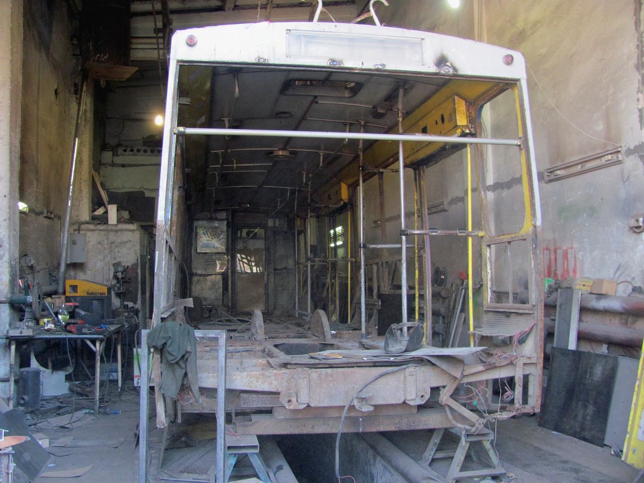 У 2016 році капітально відремонтують п'ять тролейбусів