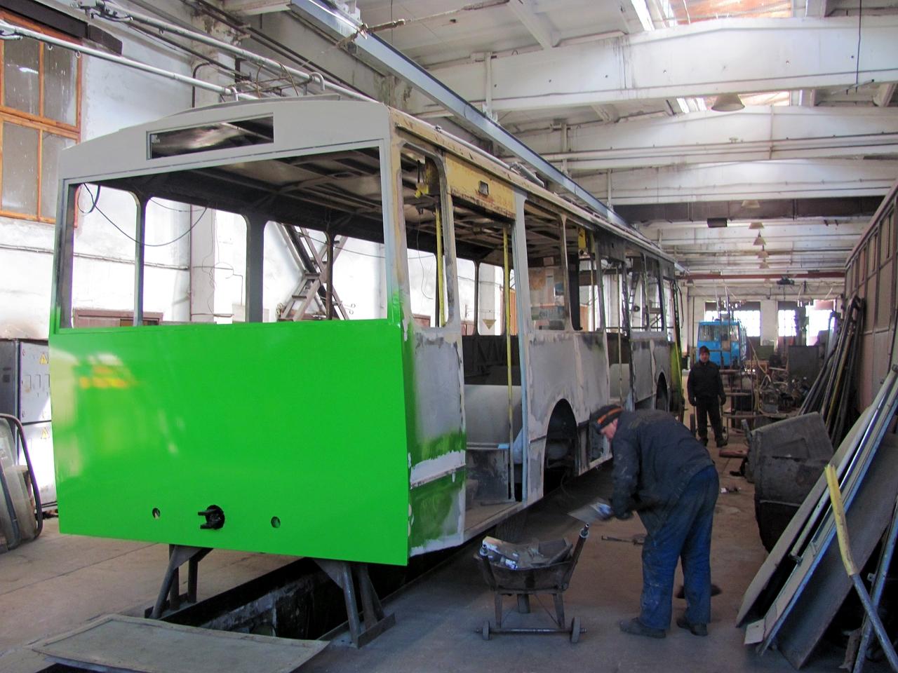 Після капремонту на маршрут вийде тролейбус №137