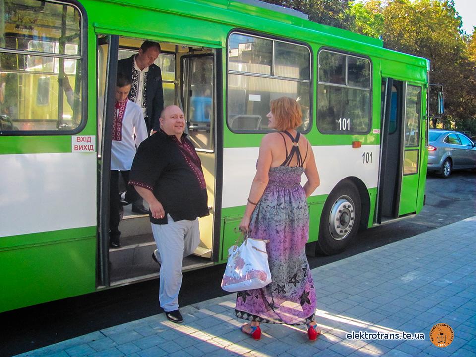 Андрій Мастюх: «Новий тролейбусний маршрут дозволить зекономити 5-7 хвилин»