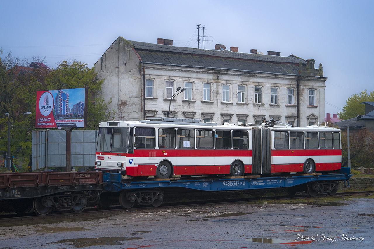 Перший із придбаних цього року тролейбусів – уже в Тернополі