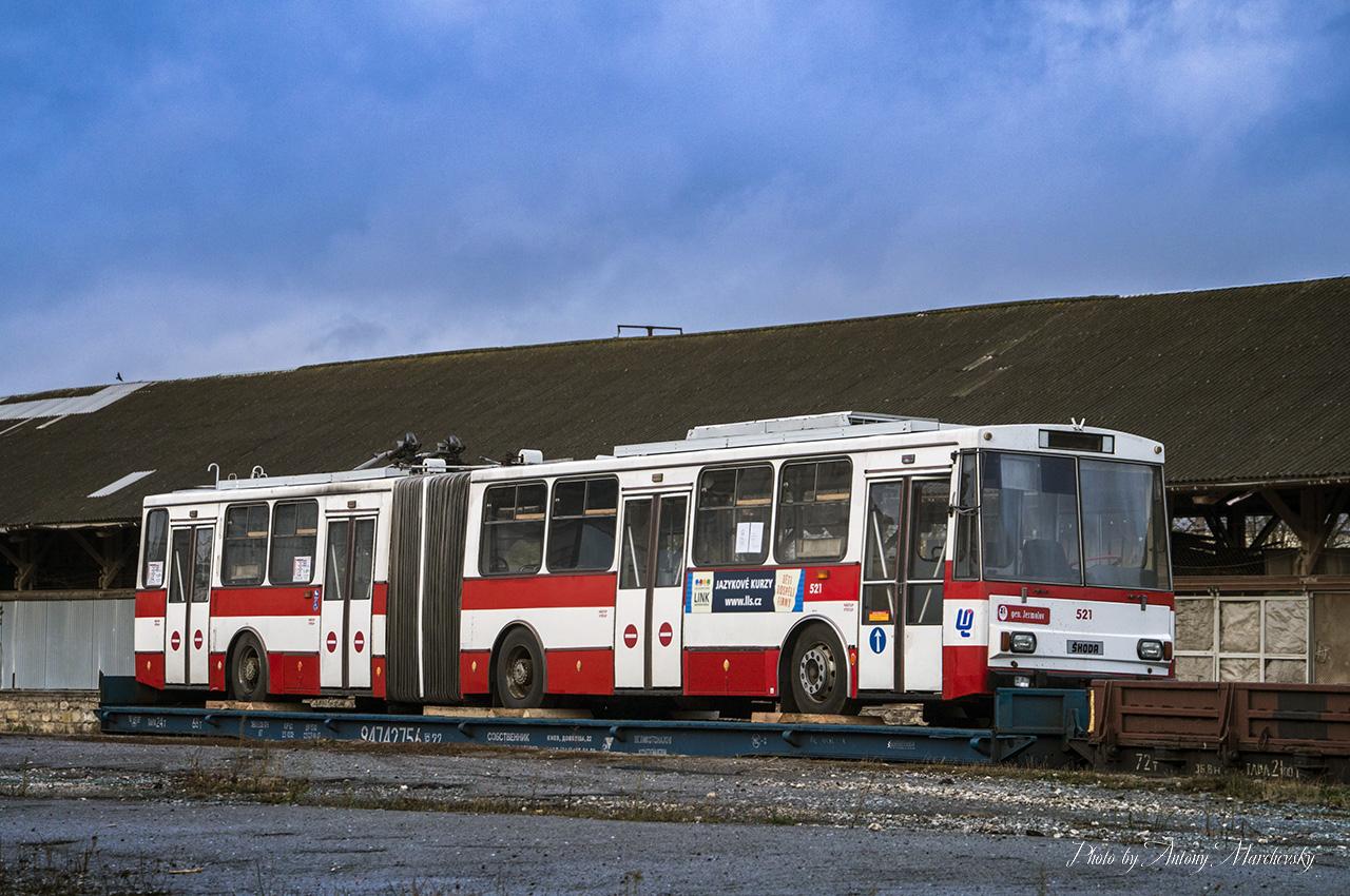 Уже другий чеський тролейбус прибув до Тернополя