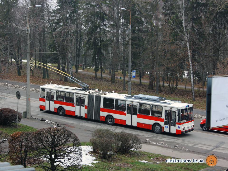Тролейбус №175 пройшов випробування на вулицях Тернополя