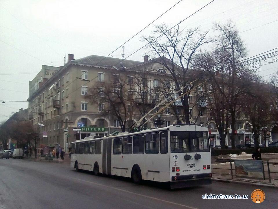 Завтра тролейбус №179 повезе перших пасажирів