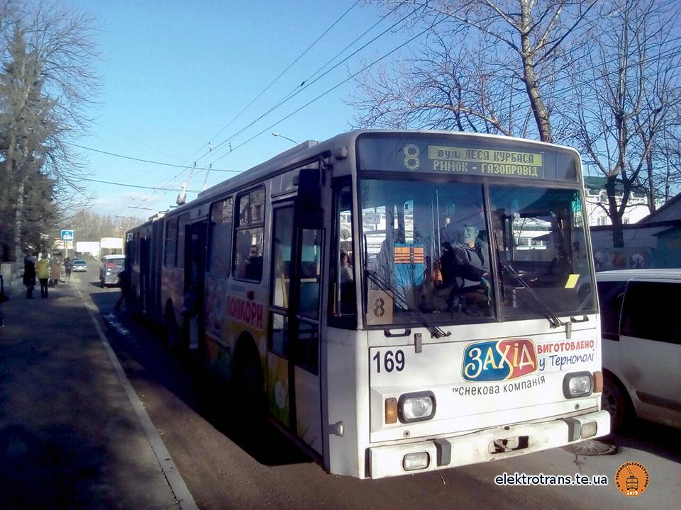 Увага: 19 листопада тролейбус №8 до «Газопроводу» не поїде!