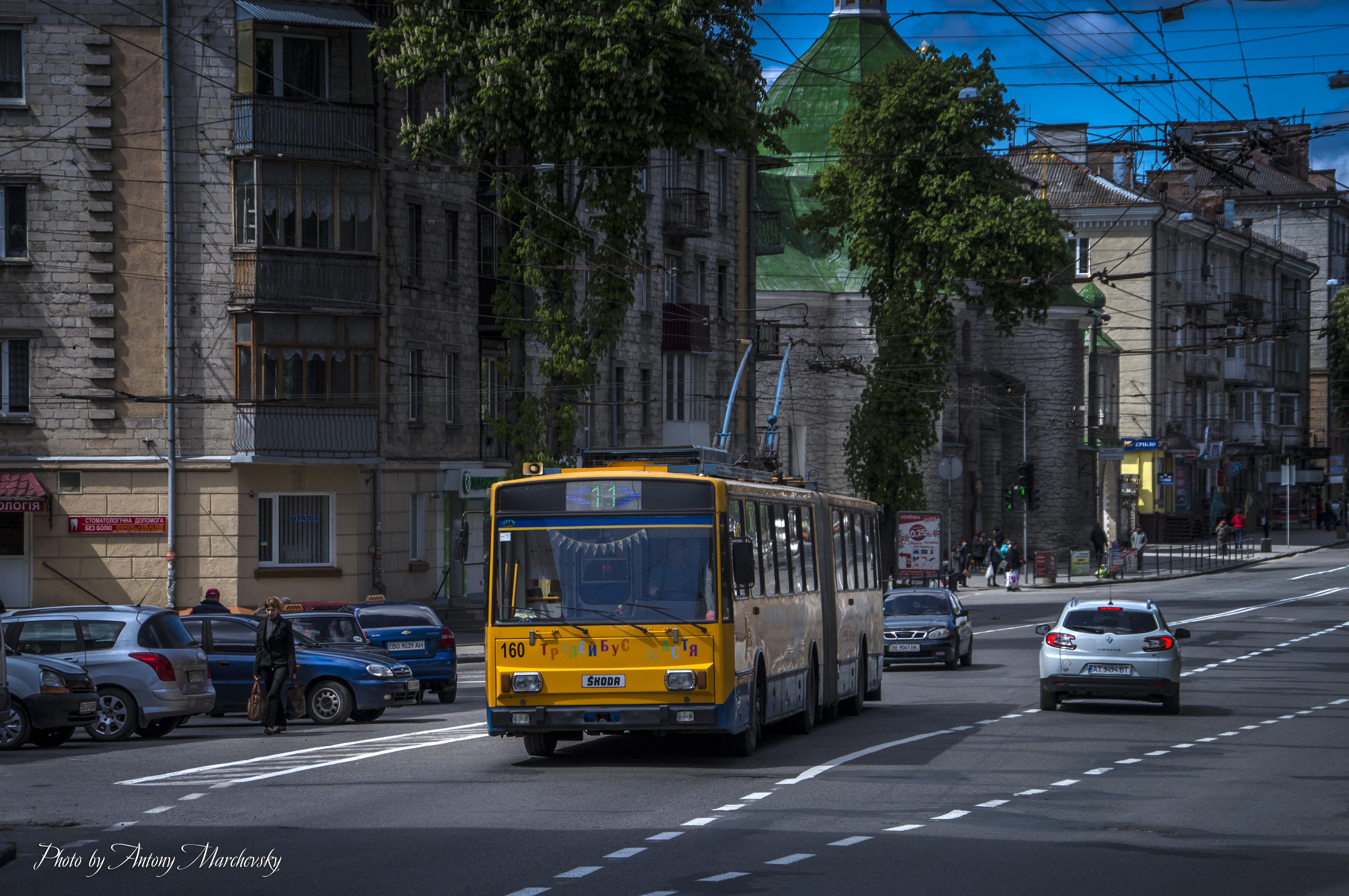 До уваги пасажирів! 20-22 травня у Тернополі тролейбуси курсуватимуть за іншими маршрутами