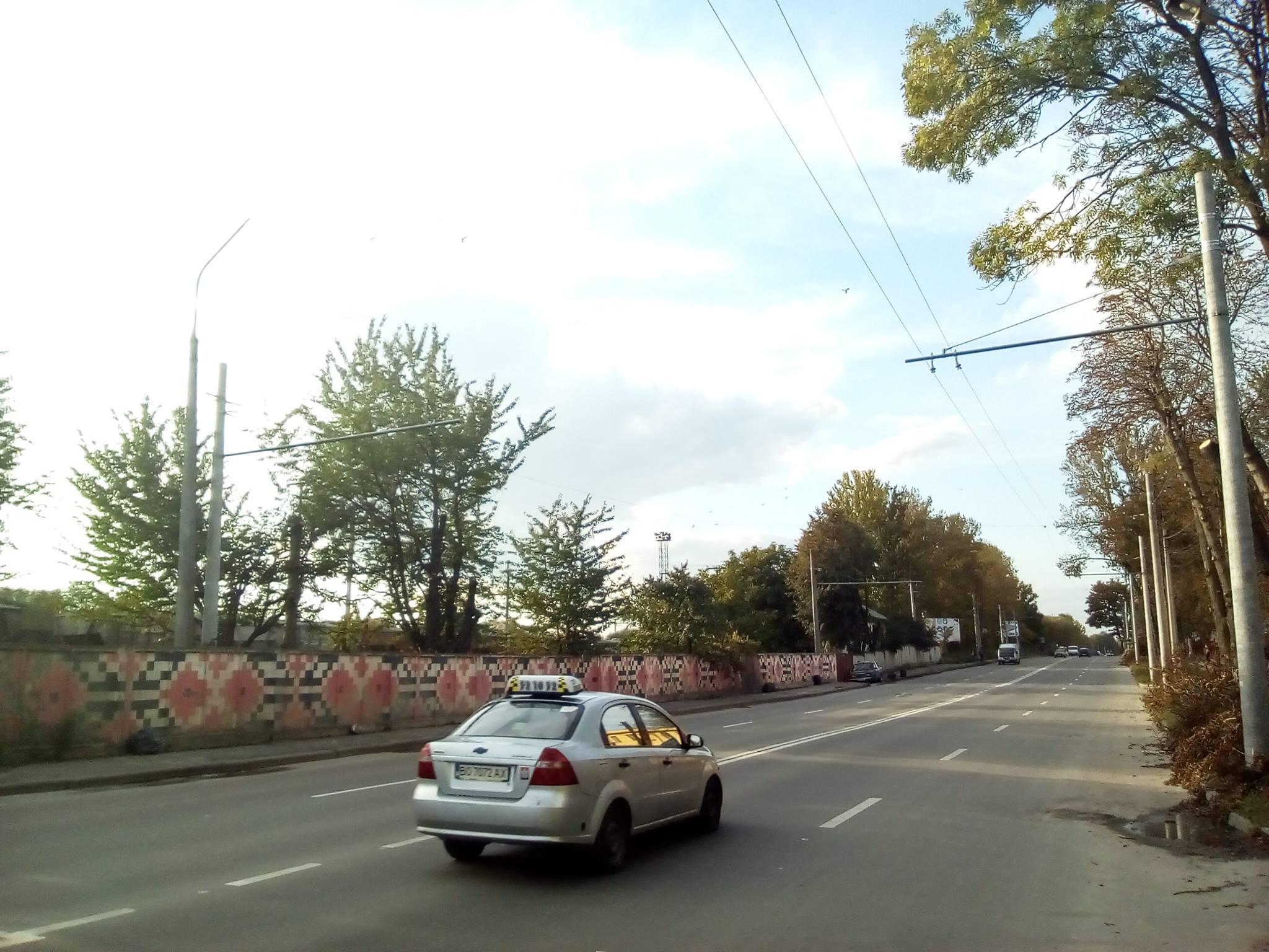 На Бродівській завершили будівництво нової тролейбусної лінії