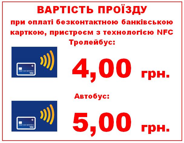 Світова практика: розрахуватися за проїзд банківськими картками відтепер можна й у Тернополі