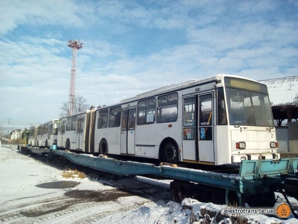 Дві «гармошки» привезли до Тернополя
