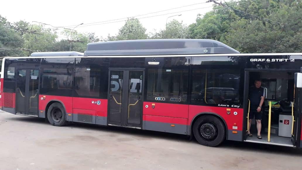 До Тернополя прибув перший муніципальний автобус