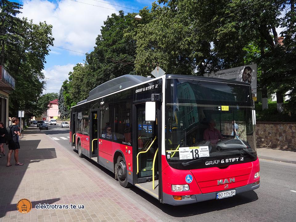 Придбаний автобус уже курсує містом