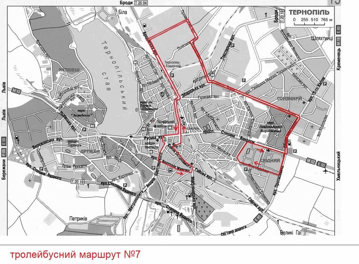 Із 23 серпня маршрут тролейбуса №7 продовжується до Центрального ринку