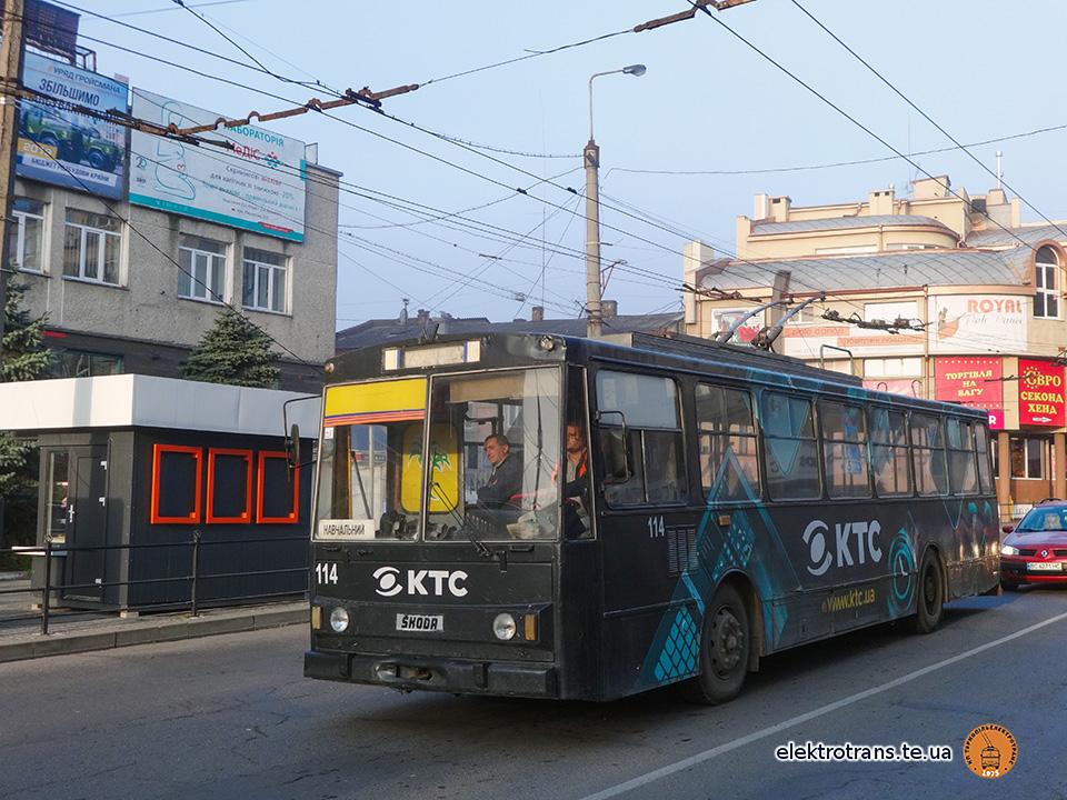Триває навчання майбутніх водіїв тролейбусів