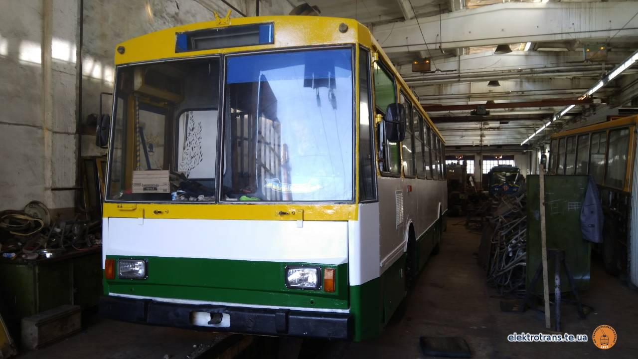 Завершується капремонт тролейбуса №104