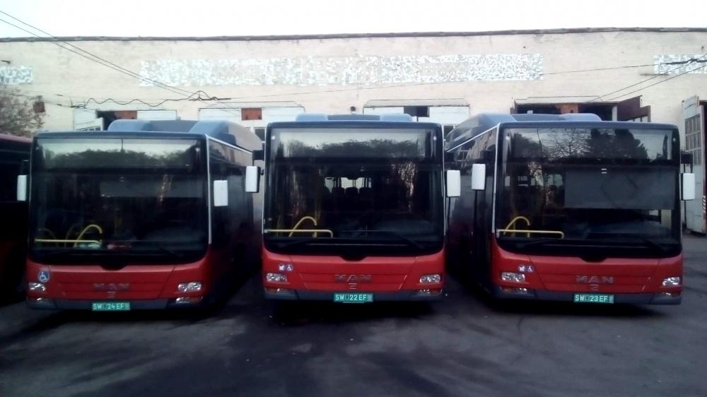 У Тернополі налічується 24 комунальних низькопідлогових автобуси