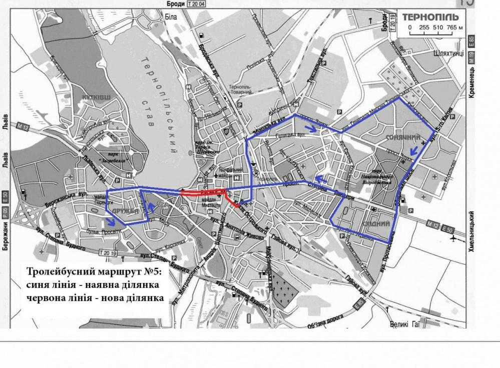 З 1 березня тролейбус №5 курсуватиме за зміненим маршрутом (нові розклади)