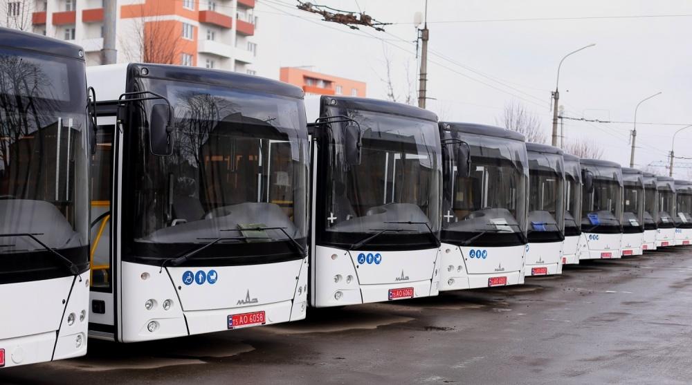 КП «Тернопільелектротранс» отримало 20 нових низькопідлогових автобусів