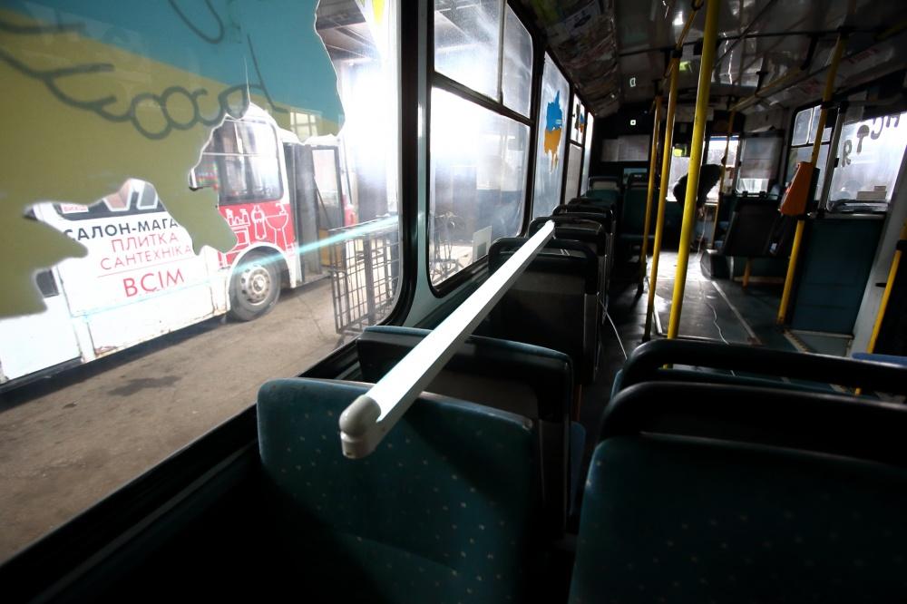 У тернопільських автобусах і тролейбусах для знезараження повітря використовують бактерицидні лампи